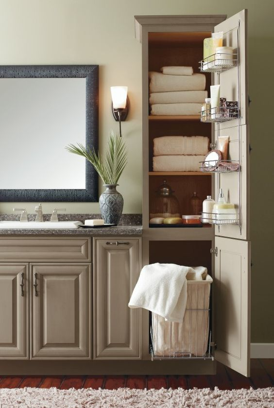 Bathroom Cabinet Hacks That Will Make Your Bath More Useful